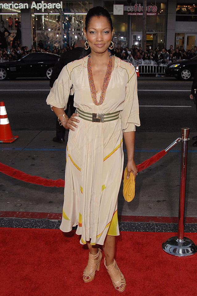 """<a href=""""http://movies.yahoo.com/movie/contributor/1807598780"""">Garcelle Beauvais</a> at the Los Angeles premiere of <a href=""""http://movies.yahoo.com/movie/1808665084/info"""">X-Men Origins: Wolverine</a> - 04/28/2009"""