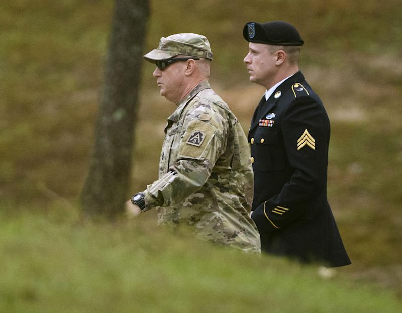 Bergdahl could be sentenced to life in prison: AP
