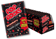 """<p><strong>Pop Rocks</strong><br></p><p>These bad boys were <a href=""""http://www.poprockscandy.com/history.html"""" rel=""""nofollow noopener"""" target=""""_blank"""" data-ylk=""""slk:developed in 1956 by scientist William A. Mitchell"""" class=""""link rapid-noclick-resp"""">developed in 1956 by scientist William A. Mitchell</a>, but weren't released to the public until 1974. Using little air pockets of carbonation that melt in your mouth, these candies leave a mild crackling and popping sensation in your mouth. </p>"""