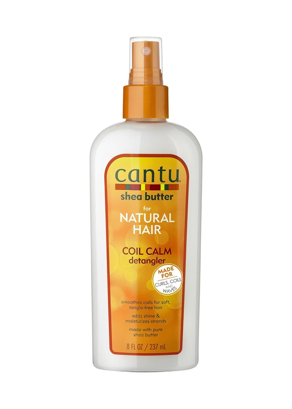 <p><span>Cantu Coil Calm Detangler</span> ($5) is one of Smith's favorite leave-in conditioners.</p>