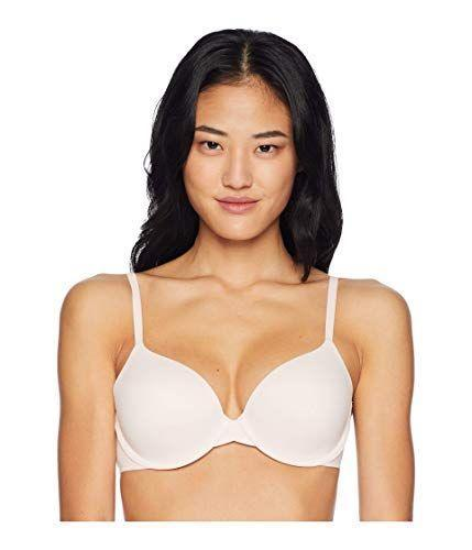 """<p><strong>Calvin Klein</strong></p><p>amazon.com</p><p><strong>$33.60</strong></p><p><a href=""""https://www.amazon.com/dp/B077GBCDK1?tag=syn-yahoo-20&ascsubtag=%5Bartid%7C10055.g.36399229%5Bsrc%7Cyahoo-us"""" rel=""""nofollow noopener"""" target=""""_blank"""" data-ylk=""""slk:Shop Now"""" class=""""link rapid-noclick-resp"""">Shop Now</a></p><p><strong>Soft stretch microfiber and cushioning</strong> nearly all around is what makes this bra popular among Amazon reviewers. One reviewer points out that the padding isn't too overbearing and instead, lifts her chests slightly for subtle cleavage.<br></p>"""