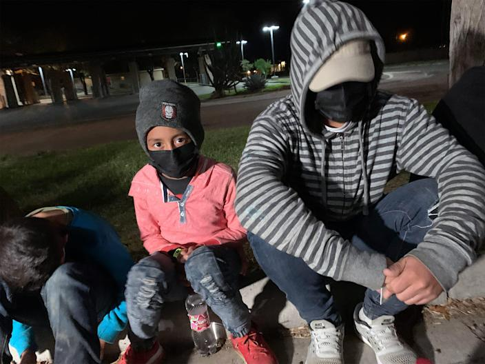 Since he was 4 years old, Keiner has not seen his mother, who lives in Florida. Now, at 11, he is clear about the reason for this weekslong journey from Honduras to Texas: his mother said she wanted to see him. (Damià Bonmatí / Telemundo)