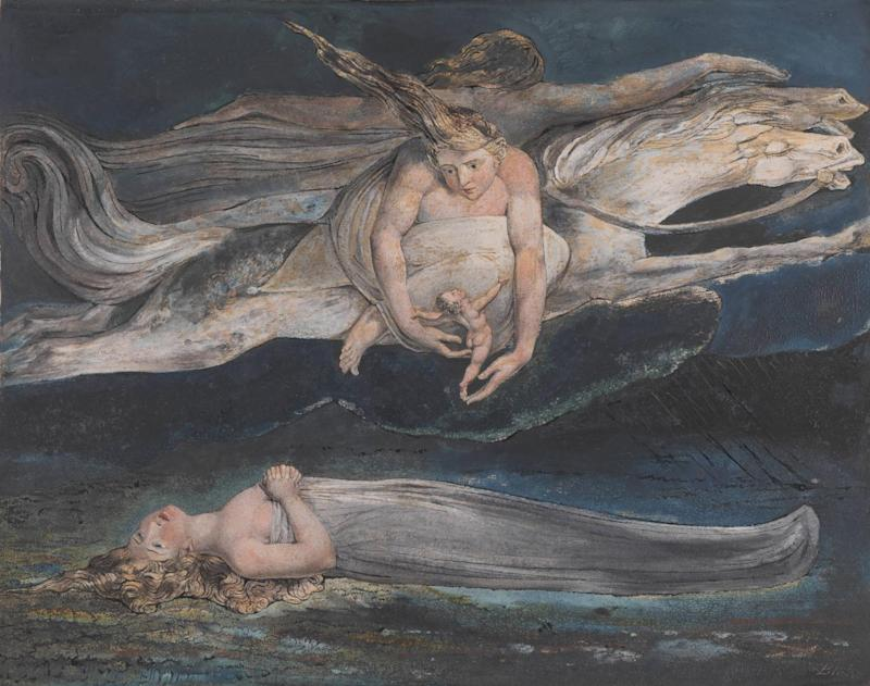 William Blake Pity c.1795. Tate (Lucy Dawkins, Tate Photography)