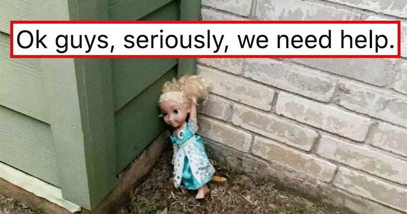 Mom Horrifies The Internet With Tale Of 'Haunted' Elsa Doll