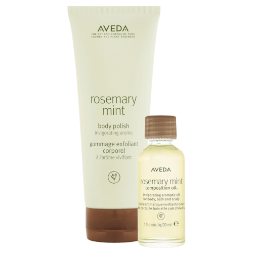 30% off 'A gift of invigorating moments' body polish and body oil set.