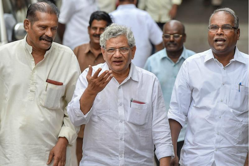 Anti-BJP Coalition Likely to Face Setback Amid Bid to 'Sabotage' Yechury's Pro-Congress Line in CPM