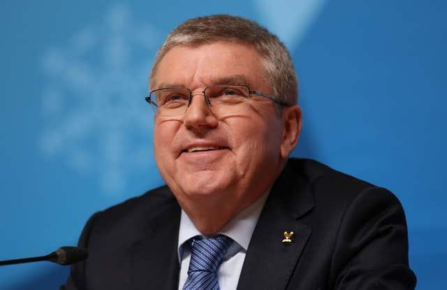 IOC president Thomas Bach will be involved in a meeting with Games organisers on Wednesday