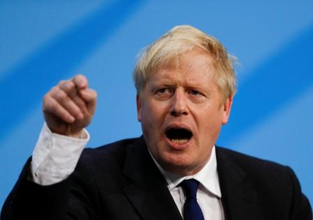 UK's Johnson declines to comment on plan to facilitate a no-deal Brexit