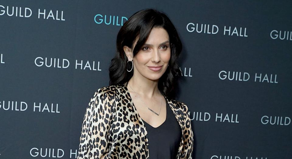 Hilaria Baldwin has revealed the terrifying experience of her baby son having an allergic reaction. (Getty Images)