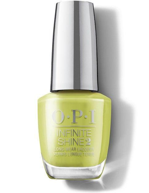 """<h3>Pear-adise Cove</h3><br><a href=""""https://www.refinery29.com/en-us/green-nail-polish"""" rel=""""nofollow noopener"""" target=""""_blank"""" data-ylk=""""slk:Chartreuse green"""" class=""""link rapid-noclick-resp"""">Chartreuse green</a> with a hint of yellow, this pear tone is cool, unexpected, and super flattering.<br><br><strong>OPI</strong> Pear-adise Cove, $, available at <a href=""""https://go.skimresources.com/?id=30283X879131&url=https%3A%2F%2Fwww.ulta.com%2Fp%2Fmalibu-nail-lacquer-collection-pimprod2024449"""" rel=""""nofollow noopener"""" target=""""_blank"""" data-ylk=""""slk:Ulta"""" class=""""link rapid-noclick-resp"""">Ulta</a>"""