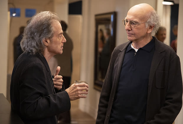 Richard Lewis 'crushed' he can't return to 'Curb Your Enthusiasm'