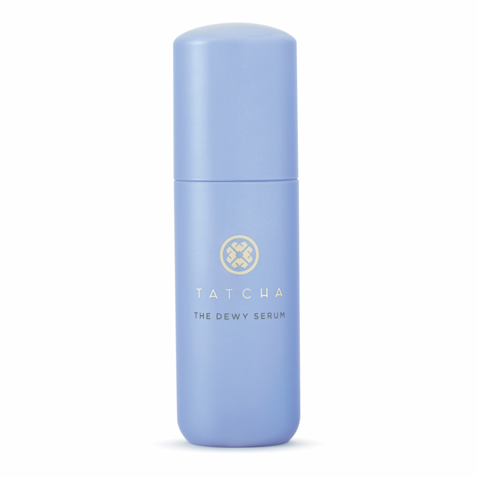 """I've been waiting for Tatcha to come out with hydrating serum for years, and now that it's finally here, it doesn't disappoint. First of all, I love the consistency. It's more of a milky lotion than a serum, but that doesn't mean it sits on your skin. My face drinks it up, along with the hydrating HA, gently exfoliating lactic acid, and moisturizing squalane in the formula. I never want my bottle to end. <em>—L.S.</em> $88, Tatcha. <a href=""""https://www.tatcha.com/product/CF08010T.html"""" rel=""""nofollow noopener"""" target=""""_blank"""" data-ylk=""""slk:Get it now!"""" class=""""link rapid-noclick-resp"""">Get it now!</a>"""