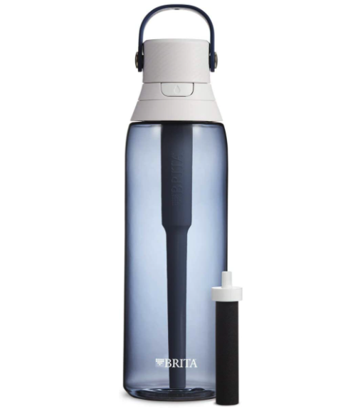 Brita Premium Filtering Water Bottle. Image via Amazon.