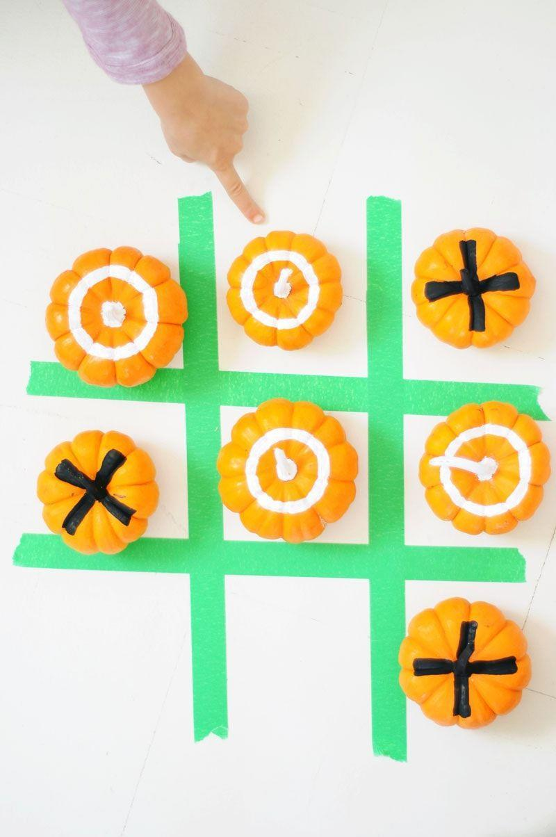 "<p>Really, Halloween should be all fun and games! Kids will get a kick out of this simple DIY Tic Tac Toe game. </p><p><em><a href=""https://projectkid.com/mini-pumpkin-tic-tac-toe/"" rel=""nofollow noopener"" target=""_blank"" data-ylk=""slk:Get the tutorial at Project Kid »"" class=""link rapid-noclick-resp"">Get the tutorial at Project Kid »</a></em> </p><p><strong>RELATED: </strong><a href=""https://www.goodhousekeeping.com/holidays/halloween-ideas/g2618/halloween-games/"" rel=""nofollow noopener"" target=""_blank"" data-ylk=""slk:The Most Fun Halloween Games for Kids"" class=""link rapid-noclick-resp"">The Most Fun Halloween Games for Kids </a></p>"
