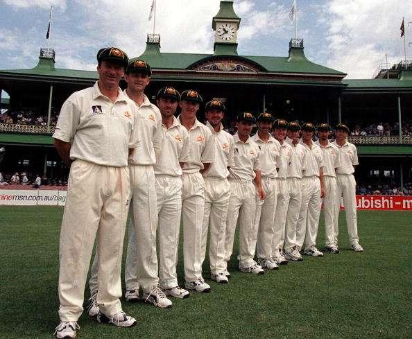 Steve Waugh's Australian team