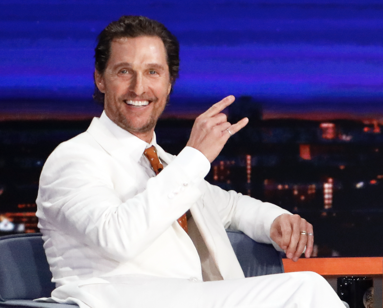 Matthew McConaughey is still considering a run for governor of Texas. (Photo: Getty Images)