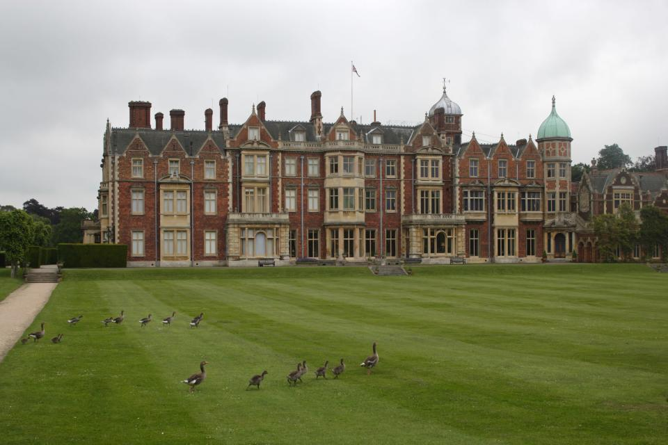 Sandringham house is the country residence of the British royal family in Norfolk. (Getty Images)