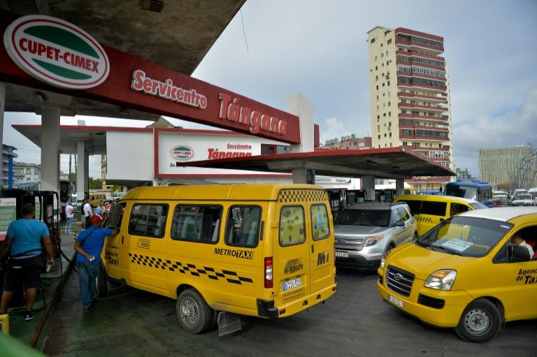 President Miguel Diaz Canel warned the fuel shortages would affect transportation, merchandise distribution and electricity generation (AFP Photo/YAMIL LAGE)