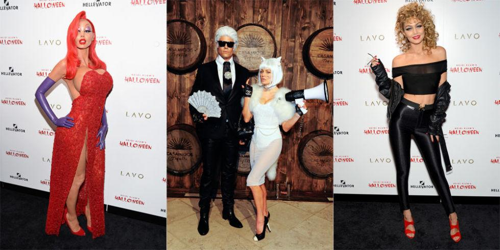 <p>BAZAAR looks back at some of our favorite celebrity Halloween costumes for all your dress-up inspiration from sultry to spooky.</p>
