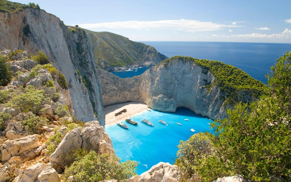 Greece and its islands are on the amber list, - David C Tomlinson