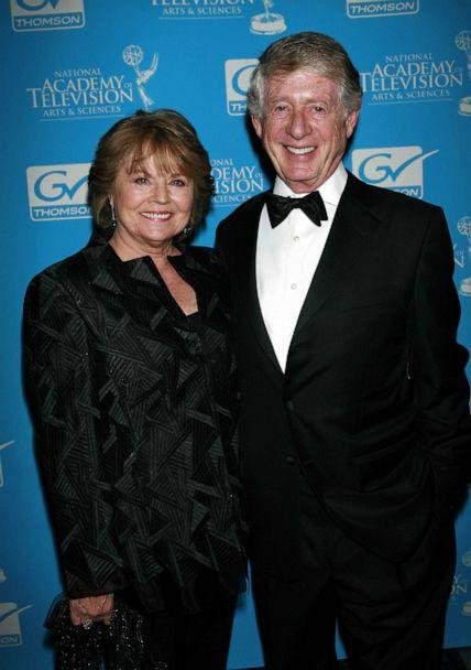PHOTO: Ted Koppel and his wife, Grace Anne Dorney Koppel attend the 28th Annual News & Documentary Emmy Awards in New York, Sept. 24, 2007. (Star Max via AP Images, FILE)