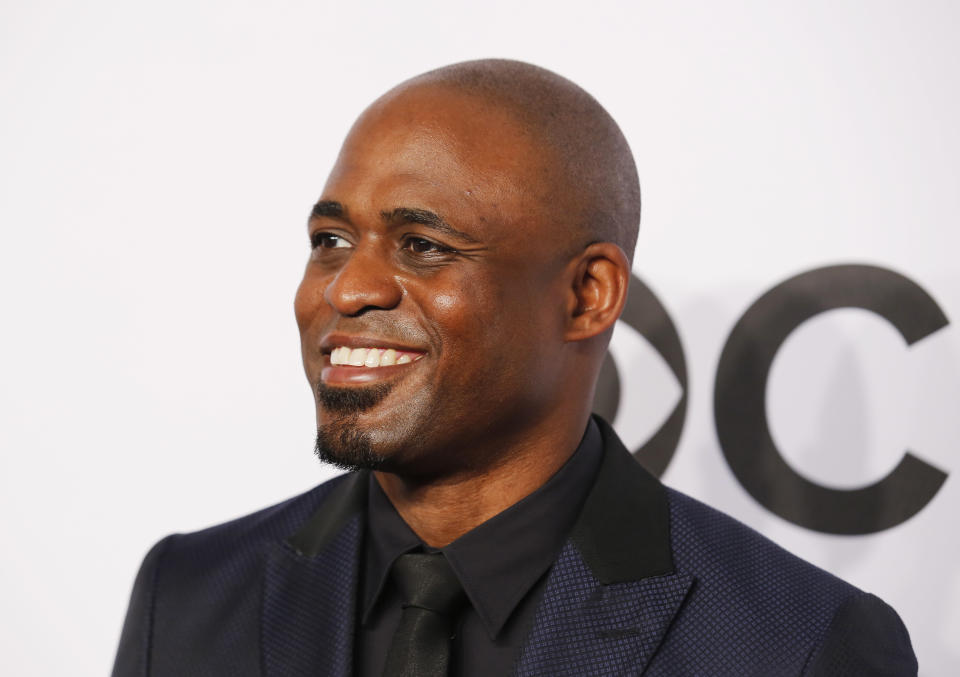 Wayne Brady was repeatedly called the N-word during a racist message left where he tapes Let's Make a Deal. (Reuters)