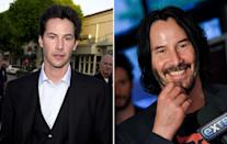 <p>Clearly, all the good karma the<em> John Wick</em> star has earned over the years has paid dividends on his gorgeous face. (LUCY NICHOLSON/AFP/Getty Images) </p>