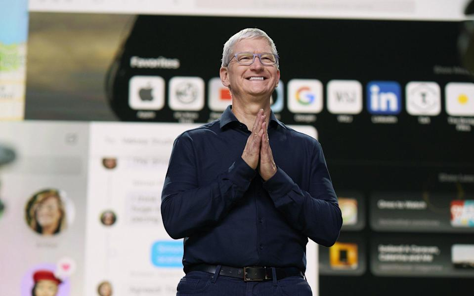 Apple chief executive Tim Cook - Getty Images