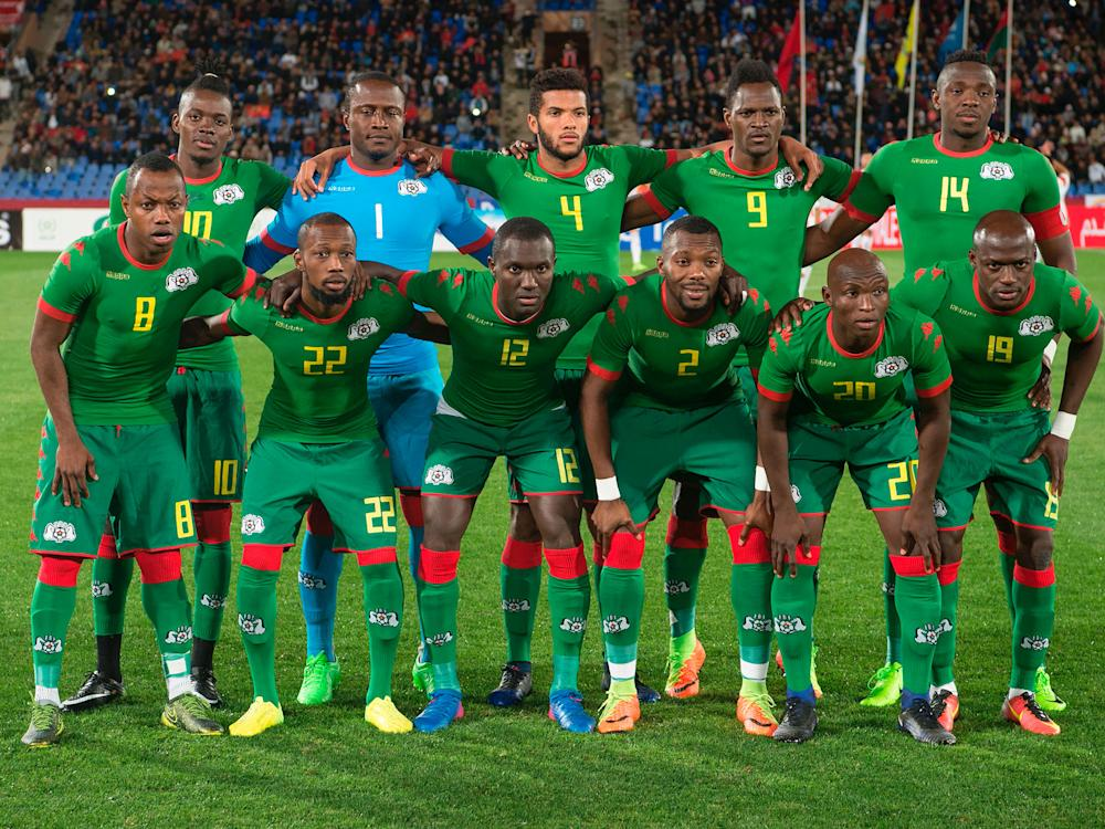 Seven of Burkina Faso's squad failed to gain visas for the United Kingdom: Getty