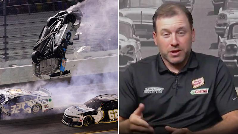 Ryan Newman is keen to return to NASCAR despite February's frightening Daytona 500 crash. Pic: Getty/Fox Sports