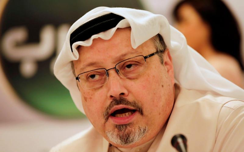 Jamal Khashoggi's sons are appealing for his body to be found - AP