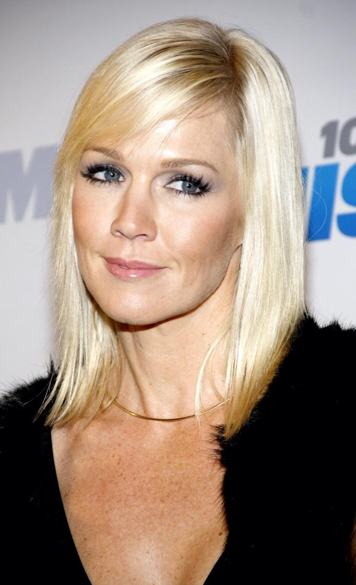 Jennie Garth at KIIS FM's Jingle Ball in 2012