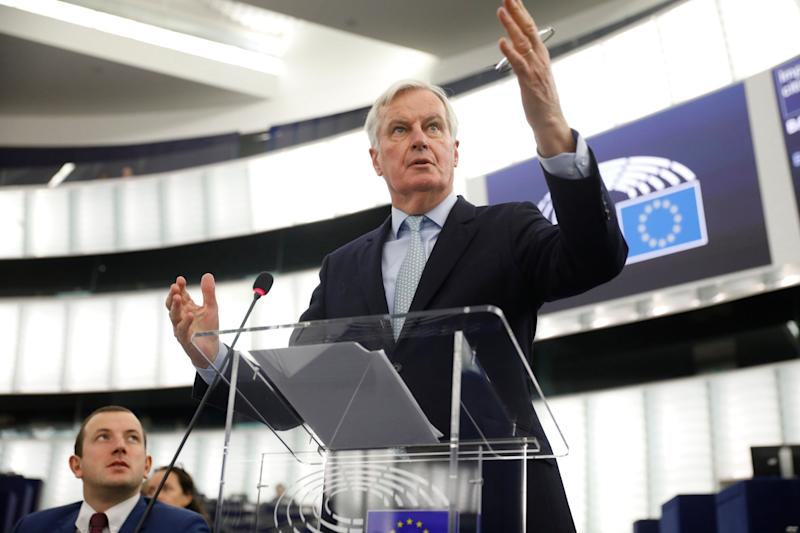 European Union chief Brexit negotiator Michel Barnier: AP