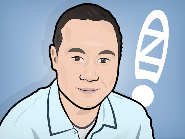 Tony Hsieh Illustration Zappos Exclamation Point