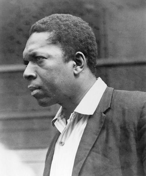 """FILE - This 1964 file photo shows jazz saxophonist John Coltrane. The year 2014 will mark the 50th anniversary of Coltrane's completion of """"A Love Supreme."""" He died of cancer in 1967 at age 40. (AP Photo)"""