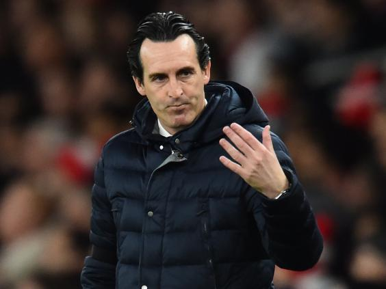 Unai Emery is unlikely to add many players to his squad (AFP/Getty)