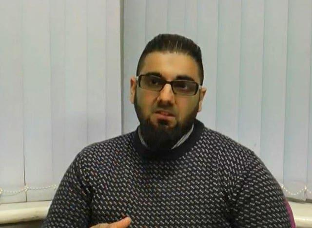 Usman Khan recorded a 'thank-you' message for a Learning Together event in Cambridge in March 2019