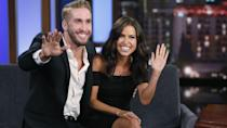 "<p>Kaitlyn Bristowe <a href=""https://people.com/tv/bachelorette-kaitlyn-bristowe-reveals-truth-about-snapchat-spoiler/"" rel=""nofollow noopener"" target=""_blank"" data-ylk=""slk:accidentally spoiled"" class=""link rapid-noclick-resp"">accidentally spoiled</a> that Shawn Booth won her season by Snapchatting him in bed, but it looks like ABC forgave her!<br></p>"