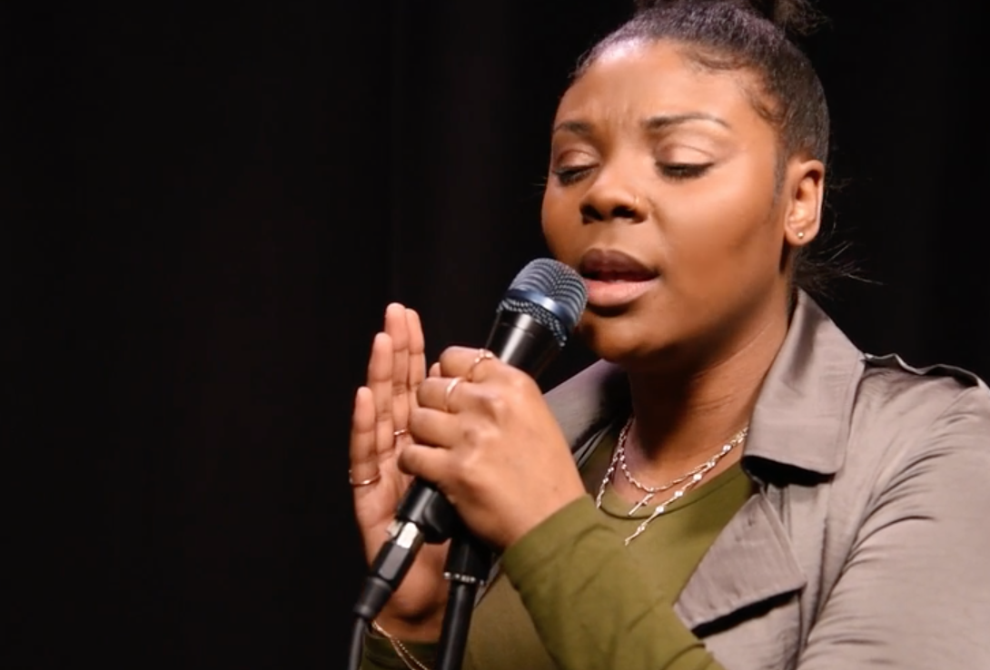 R&B singer Malika performs 'Run' and 'I Live' for Music Box season 3, session #25