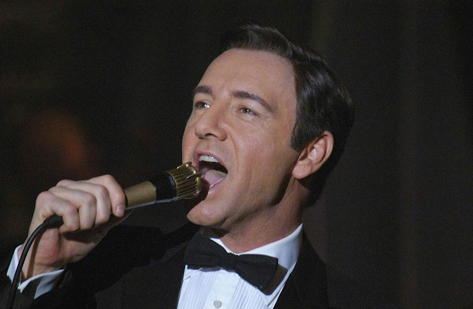 Kevin Spacey as Bobby Darin in 'Beyond the Sea' (2004) Real age at the time: 45 - Character age: 22