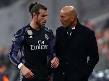 Gareth Bale returns as Real Madrid manager Zinedine Zidane stays tight-lipped on Neymar transfer speculation