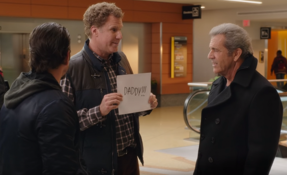 Will Ferrell and Mel Gibson in the mildly amusing 'Daddy's Home 2' (Paramount Pictures)