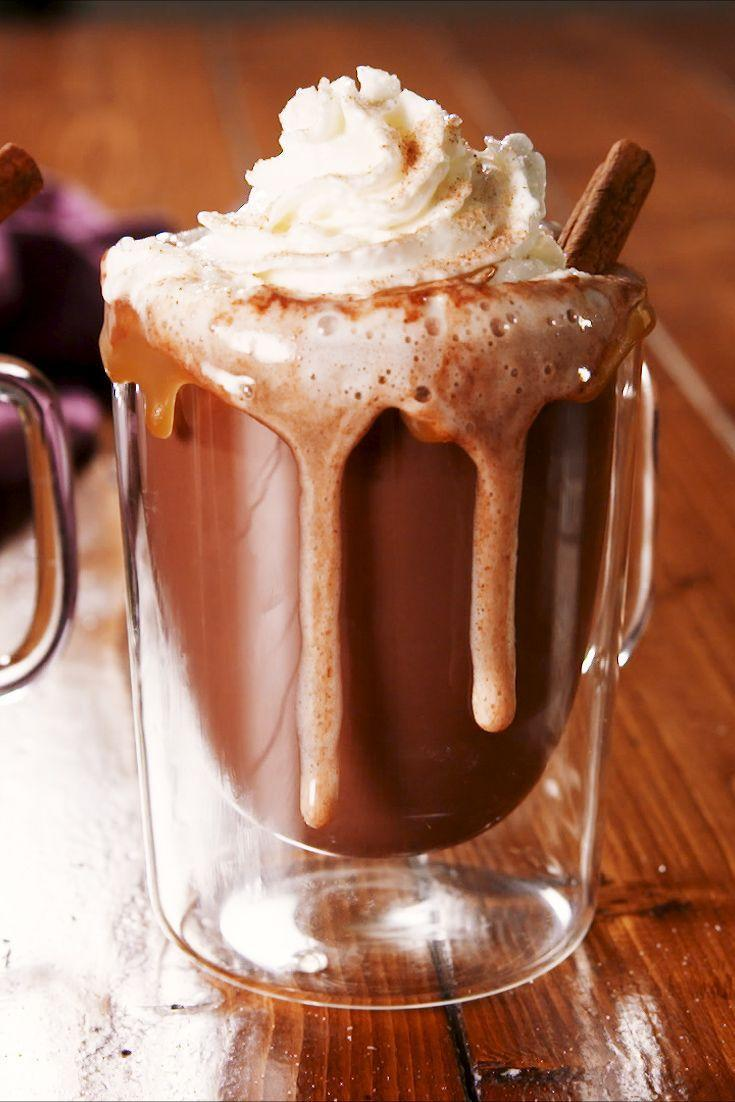 """<p>Basically a snow day in a drink.</p><p>Get the recipe from <a href=""""https://www.delish.com/cooking/recipe-ideas/a25241825/rumchata-cocoa-recipe/"""" rel=""""nofollow noopener"""" target=""""_blank"""" data-ylk=""""slk:Delish"""" class=""""link rapid-noclick-resp"""">Delish</a>.</p>"""