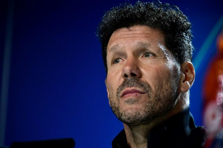Diego Simeone has been under the spotlight after a poor season for Atletico Madrid (AFP Photo/JAVIER SORIANO)
