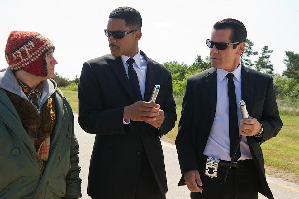 """Will Smith and Josh Brolin in Columbia Pictures' """"Men in Black 3"""" - 2012"""