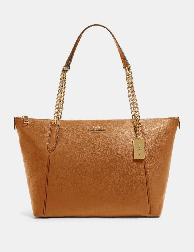 The Ava Chain tote - on sale at Coach Outlet, $119 (originally $398).