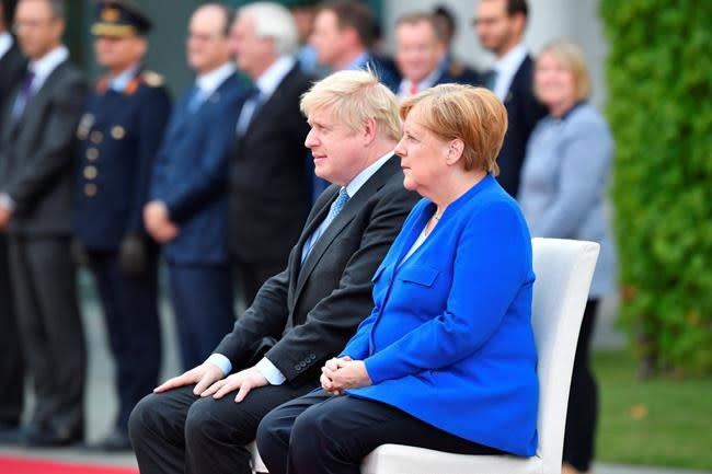 Angela Merkel gives Britain until Oct 31 for Brexit solution