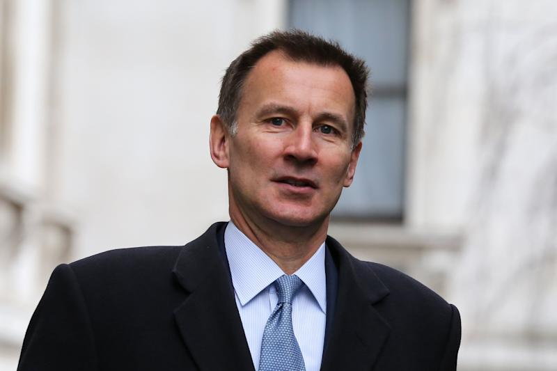 Foreign Secretary Jeremy Hunt (PA)