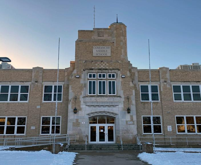 Comanche Middle School in Dodge City, Kan.