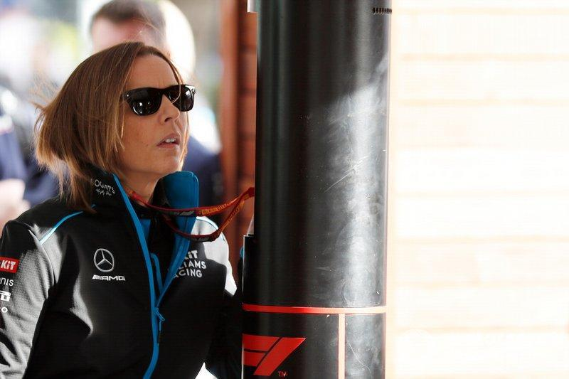 "Claire Williams, Subdirectora del equipo, Williams Racing<span class=""copyright"">Sam Bloxham / Motorsport Images</span>"